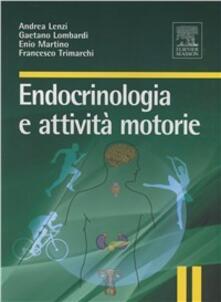Camfeed.it Endocrinologia e attività motorie Image