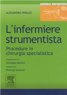 Warholgenova.it L' infermiere strumentista. Procedure in chirurgia specialistica Image