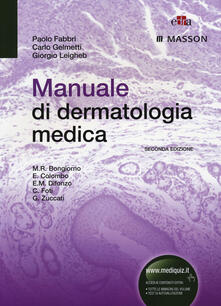 Ristorantezintonio.it Manuale di dermatologia medica Image
