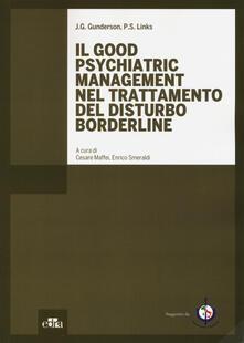 Radiospeed.it Il good psychiatric management nel trattamento del disturbo borderline Image