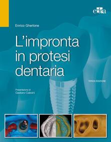 Librisulrazzismo.it L' impronta in protesi dentaria Image