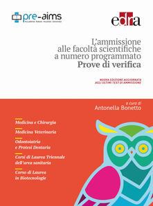 Grandtoureventi.it L' ammissione alle facoltà scientifiche a numero programmato. Anno accademico 2017-2018. Prove di verifica Image