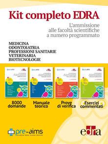 Milanospringparade.it L' ammissione alle facoltà scientifiche a numero programmato Pre-AIMS-Manuale teorico-Prove di verifica-Esercizi commentati. Anno accademico 2017-2018 Image