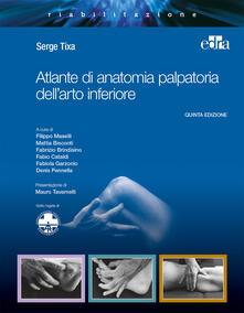 Parcoarenas.it Atlante di anatomia palpatoria dell'arto inferiore Image