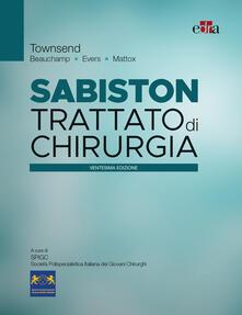 Tegliowinterrun.it Sabiston. Trattato di chirurgia Image