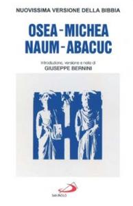 Libro Osea, Michea, Nahum, Abacuc