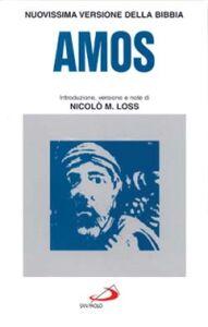 Foto Cover di Amos, Libro di  edito da San Paolo Edizioni