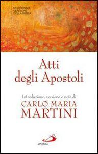 Foto Cover di Atti degli Apostoli, Libro di  edito da San Paolo Edizioni