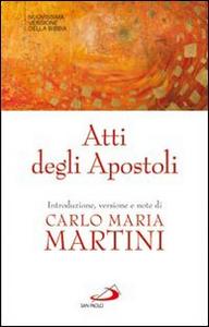 Libro Atti degli Apostoli
