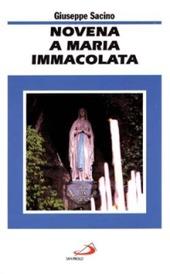 Novena a Maria Immacolata
