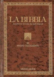 Libro La Bibbia. Vol. 3: Nuovo Testamento.