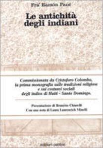 Libro Le antichità degli indiani Ramòn Pané
