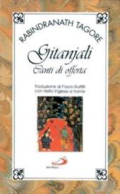 Copertina  Gitanjali, canti di offerta