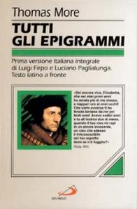 Libro Tutti gli epigrammi Tommaso Moro