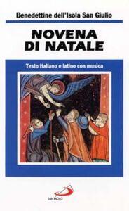 Foto Cover di Novena di Natale. Testo italiano e latino con musica, Libro di  edito da San Paolo Edizioni
