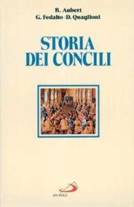 Foto Cover di Storia dei Concili, Libro di AA.VV edito da San Paolo Edizioni