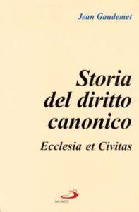 Foto Cover di Storia del diritto canonico. Ecclesia et civitas, Libro di Jean Gaudemet, edito da San Paolo Edizioni