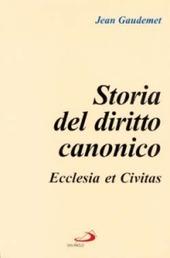 Storia del diritto canonico. Ecclesia et civitas