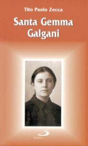 Libro Santa Gemma Galgani Tito P. Zecca