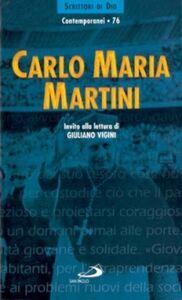 Libro Carlo Maria Martini