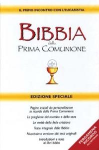 Libro Bibbia della Prima Comunione