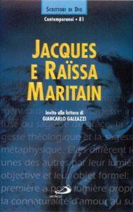 Libro Jacques e Raïssa Maritain