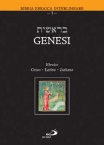 Foto Cover di Genesi. Testo ebraico, greco, latino e italiano, Libro di  edito da San Paolo Edizioni