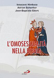 Libro L' omosessualità nella Bibbia Innocent Himbaza , Adrian Schenker , Jean-Baptiste Edart