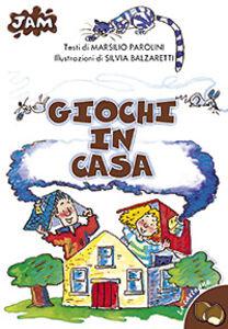 Libro Giochi in casa Marsilio Parolini