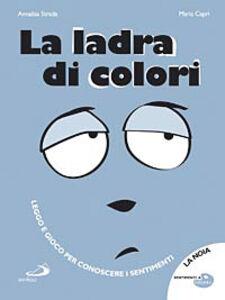 Libro La ladra di colori Annalisa Strada