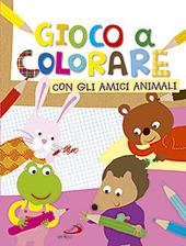 Gioco a colorare con gli amici animali