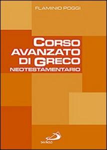 Libro Corso avanzato di greco neotestamentario Flaminio Poggi