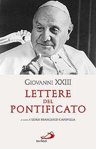 Foto Cover di Lettere del pontificato, Libro di  edito da San Paolo Edizioni