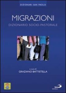 Libro Migrazioni. Dizionario socio-pastorale