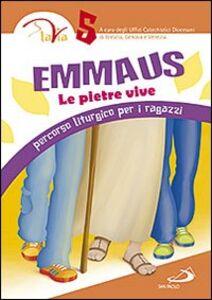 Libro Emmaus. Le pietre vive. Percorso liturgico per i ragazzi. Vol. 5