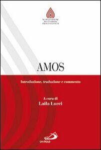 Libro Amos. Introduzione, traduzione e commento