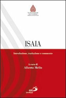Camfeed.it Isaia. Introduzione, traduzione e commento Image