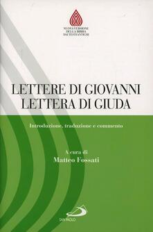 Daddyswing.es Lettere di Giovanni, Lettera di Giuda. Introduzione, traduzione e commento Image