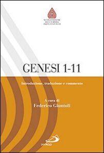 Foto Cover di Genesi 1,1-11,26. Introduzione, traduzione e commento, Libro di  edito da San Paolo Edizioni