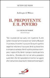 Libro Il prepotente e il povero. La vigna di Nabot Ambrogio (sant')