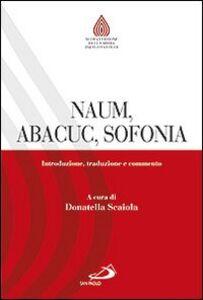 Libro Naum, Abacuc, Sofonia. Introduzione, traduzione e commento