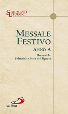 Winniearcher.com Messale festivo. Anno A. Domeniche, solennità e feste del Signore Image