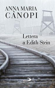 Libro Lettera a Edith Stein Anna Maria Cànopi