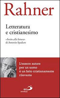 Letteratura e cristianesimo