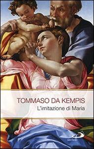 Libro L' imitazione di Maria Tommaso da Kempis