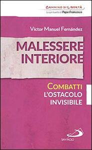 Libro Malessere interiore. Combatti l'ostacolo invisibile Víctor Manuel Fernández