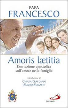Radiospeed.it Amoris laetitia. Esortazione apostolica sull'amore nella famiglia. Introduzione di Chiara Giaccardi e Mauro Magatti Image