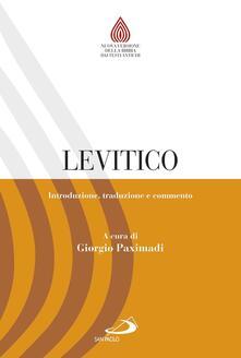 Squillogame.it Levitico. Introduzione, traduzione e commento Image