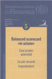 Foto Cover di Balanced scorecard «in azione», Libro di  edito da Ipsoa