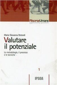 Libro Valutare il potenziale M. Giovanna Rotondi